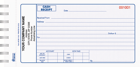 5 Cash Receipt Templates Excel PDF Formats – Cash Receipts Template