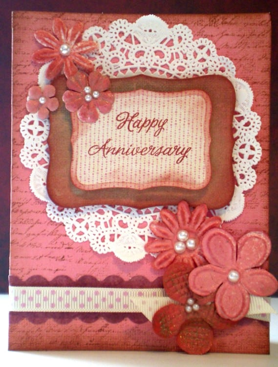 Happy anniversary cards templates excel pdf formats