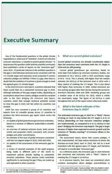 5 summary report templates