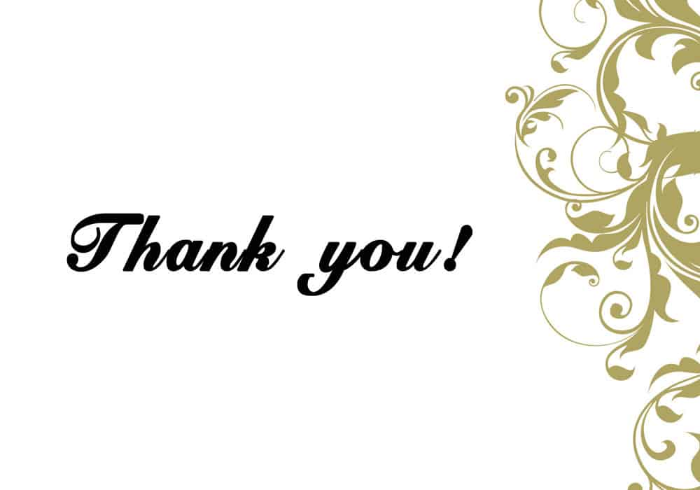 Thank You Card Templates  Excel Pdf Formats
