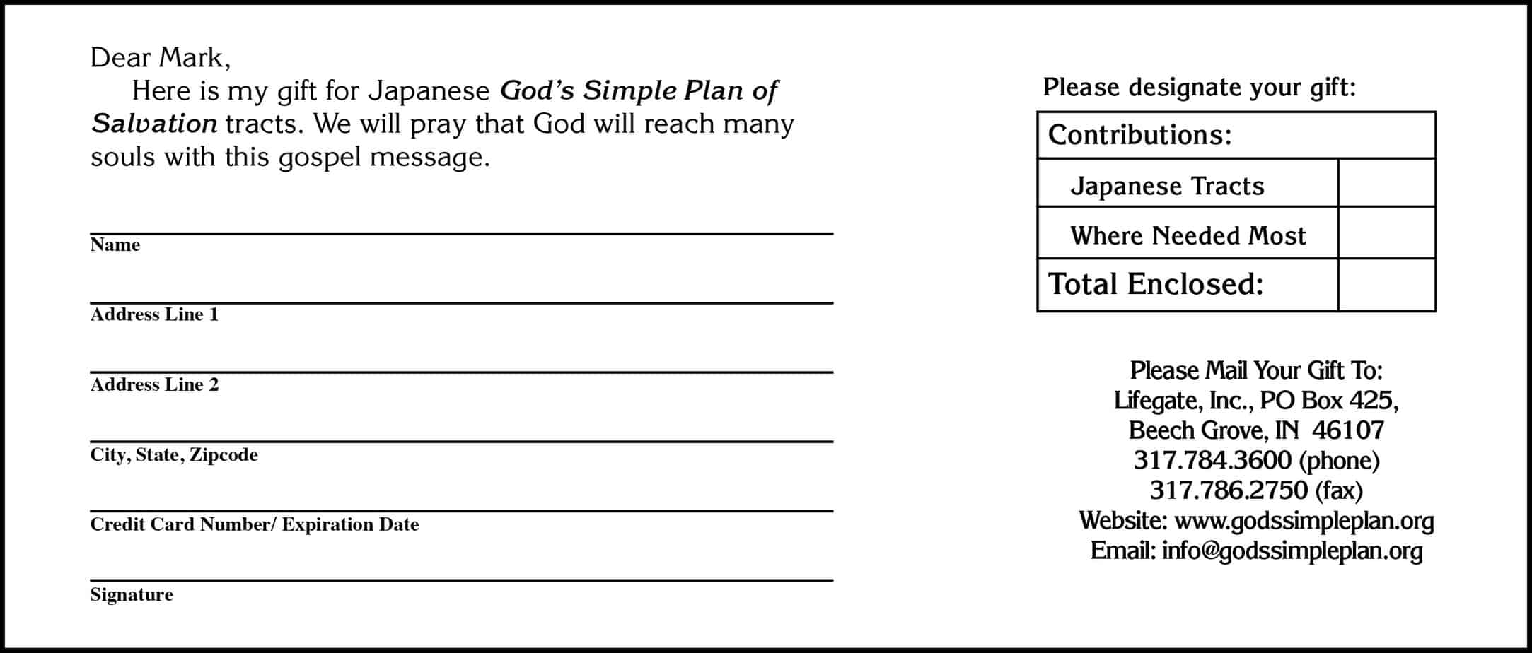 Doc401523 Donation Form Templates Sample Free Donation Form – Generic Donation Form