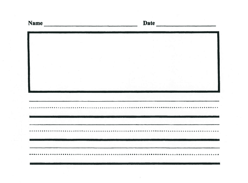 handwriting paper template microsoft word