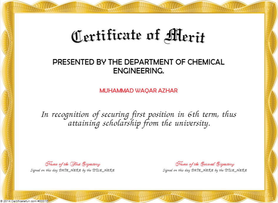 Certificate of merit design etamemibawa certificate of merit design yadclub Choice Image