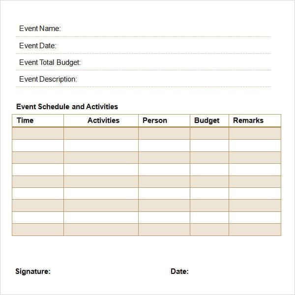 7 proposal templates excel pdf formats