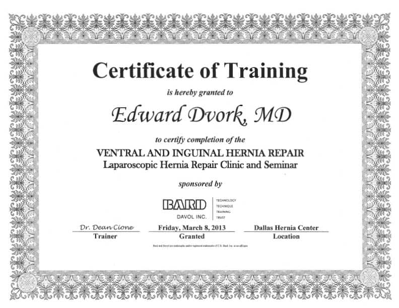 8 Training Certificate Templates   Excel PDF Formats  Certificate Of Training Template