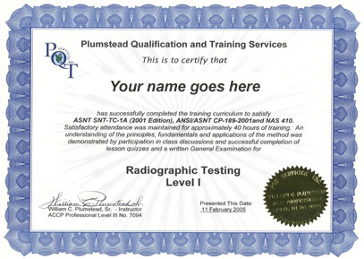 word 2007 training certificate