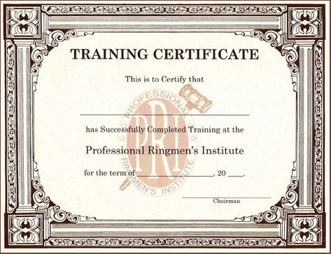 8 Training Certificate Templates Excel PDF Formats – Training Certification Template