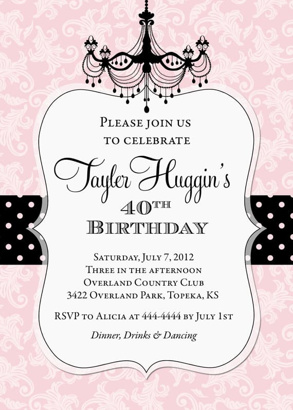 9 Birthday Invitation Templates Excel Pdf Formats