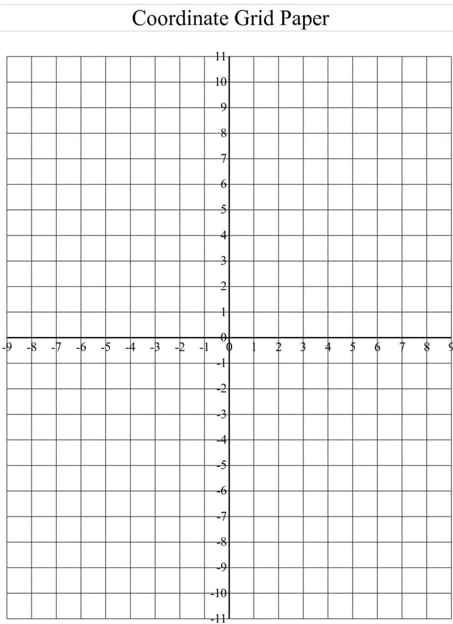 Perfect Word MS Templates  Graph Paper Word Document