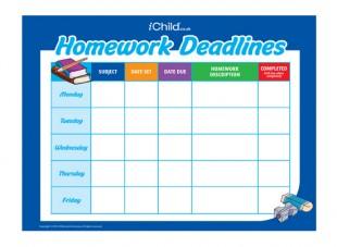 Homework feedback template