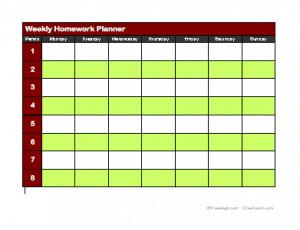 16 Homework Templates - Excel PDF Formats