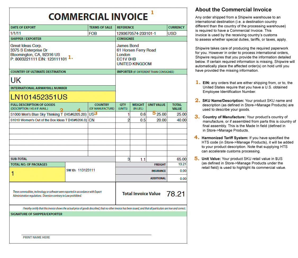 18 Invoice Templates Excel PDF Formats – Custom Invoice Template