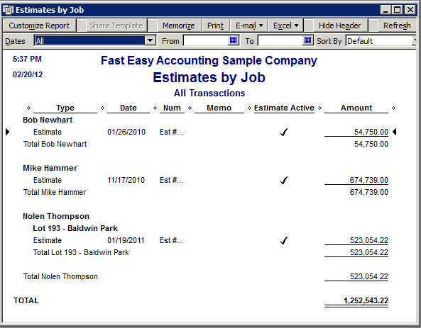 10 job estimate templates excel pdf formats for Online construction cost estimator