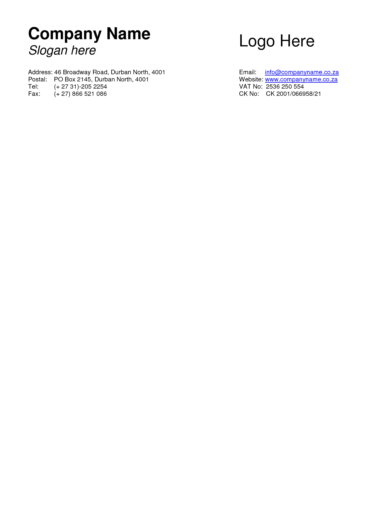 Word MS Templates  Free Microsoft Word Letterhead Templates
