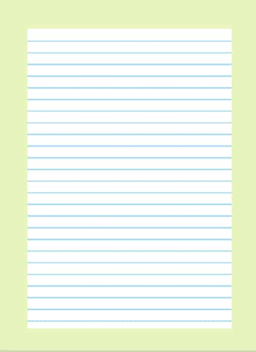 Lined paper template for word 2013 lined paper template for Notebook paper template for word 2010