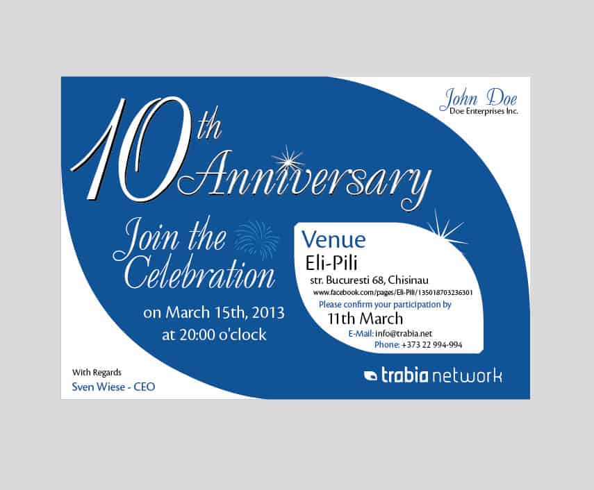 Word MS Templates  Company Party Invitation Templates