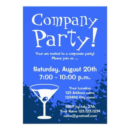 15 Party Invitations Excel PDF Formats – Corporate Invitation Template