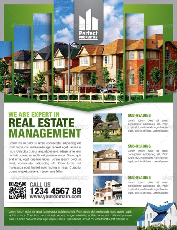 13 real estate flyer templates excel pdf formats for Property brochure template