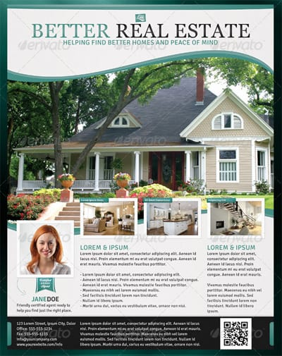 13 Real Estate Flyer Templates - Excel PDF Formats
