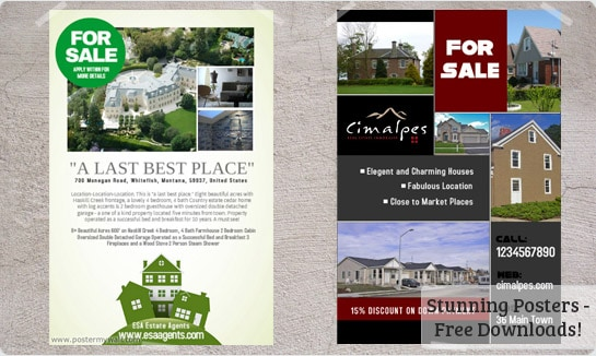 Real Estate Flyer Templates  Excel Pdf Formats