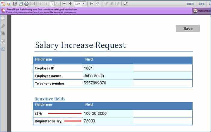 Salary Increase Templates  Excel Pdf Formats