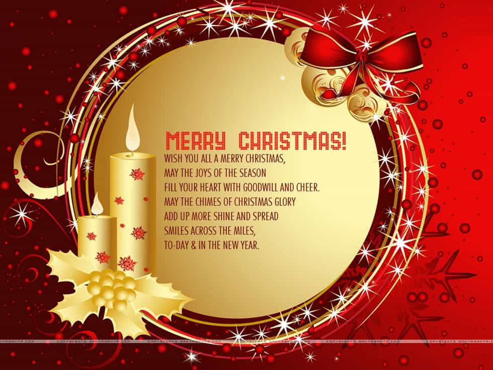 14 Greeting Card Templates Excel PDF Formats – Christmas Birthday Card
