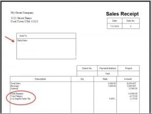 microsoft excel sales receipt template .