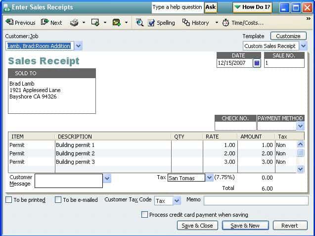 17 Sales Receipt Templates Excel PDF Formats – Sample Sales Receipt