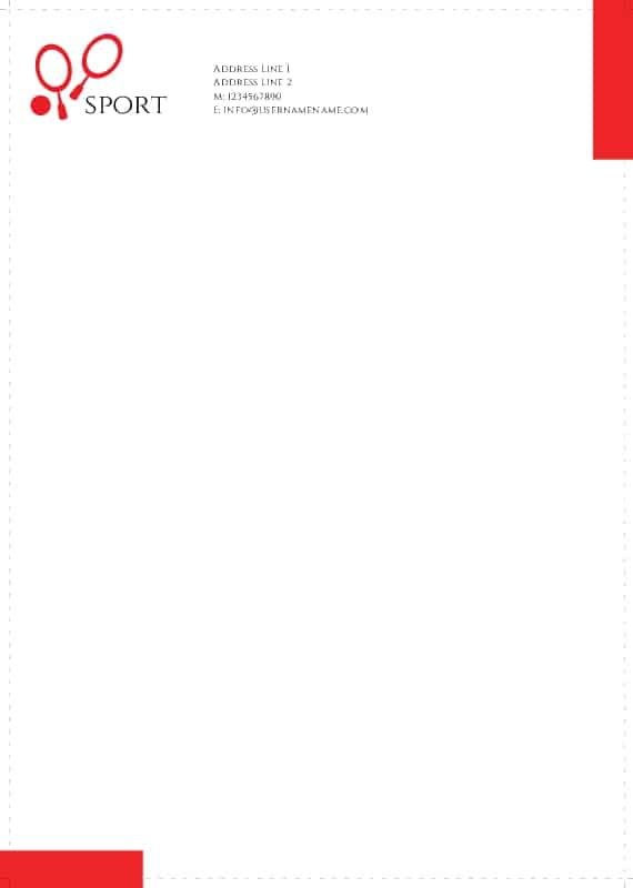 17 company letterhead templates