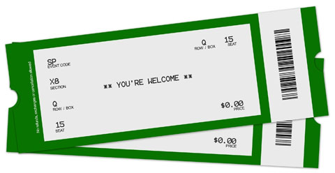 Word MS Templates  Blank Event Ticket Template
