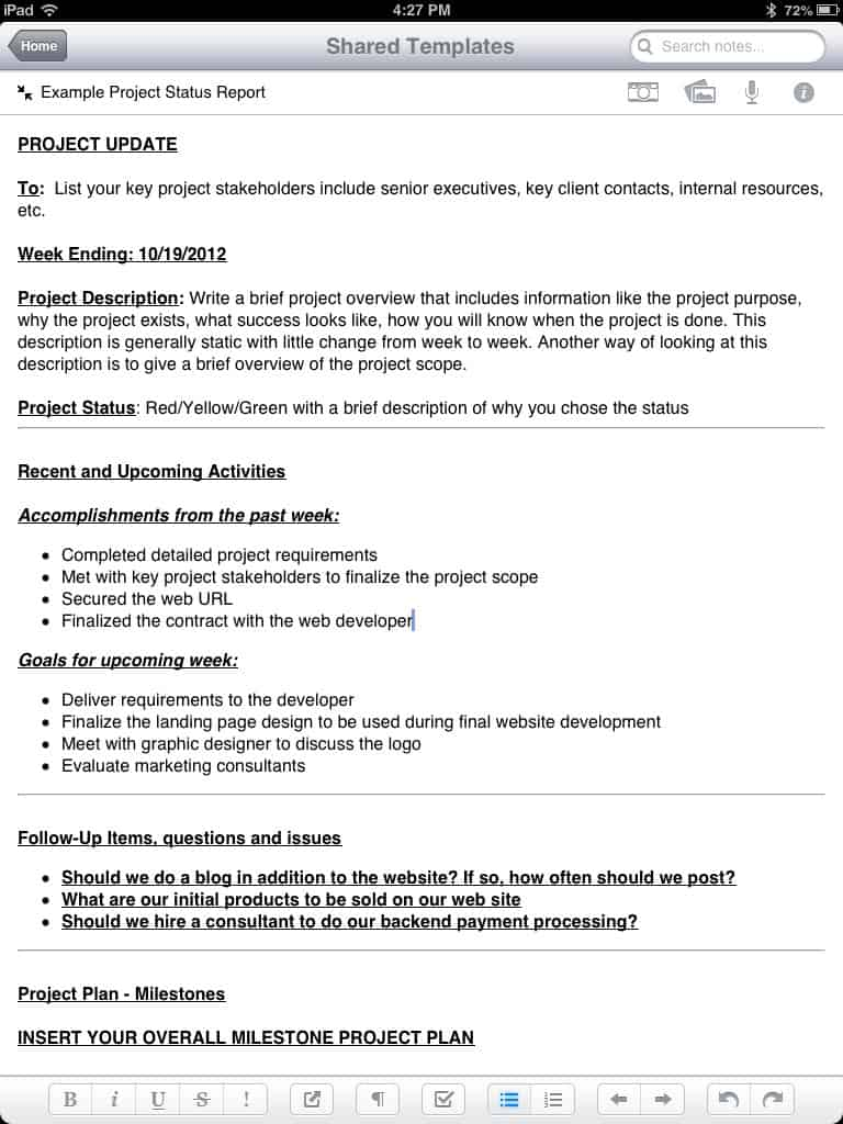 15 report templates excel pdf formats for End of project report template