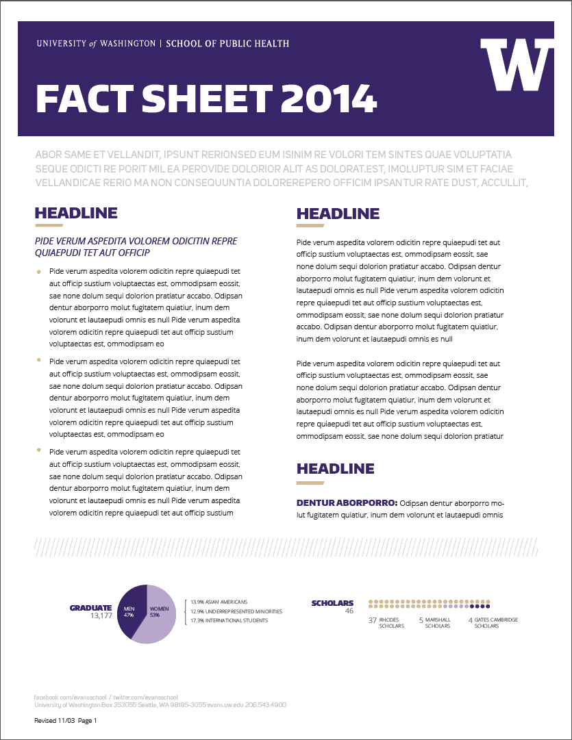Information Sheets Templates  Information Sheets Templates