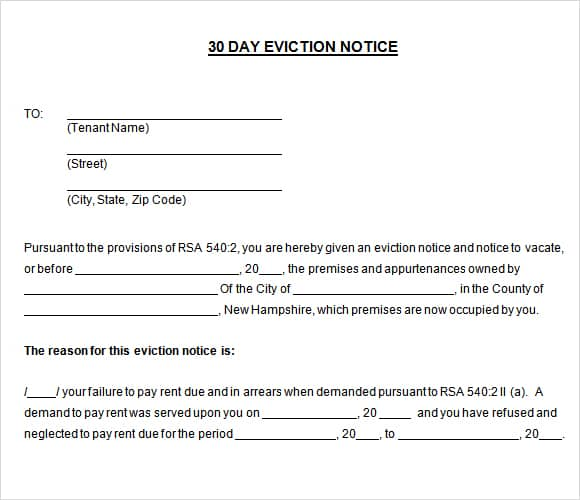 24 free eviction notice templates