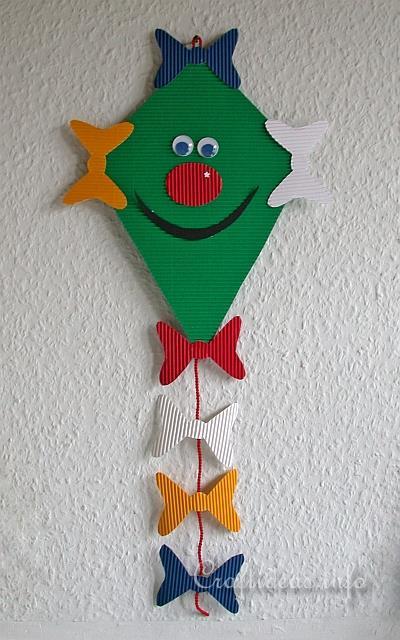 16 printable kite template designs excel pdf formats for Decoration kite