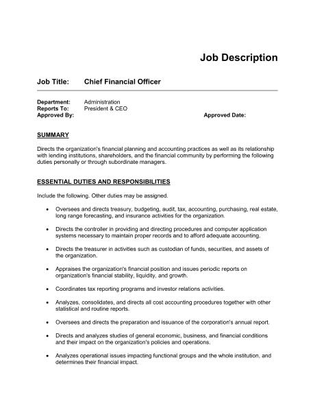 Fast Food Restaurant Job Titles