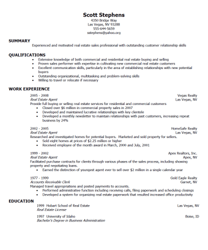 Do a resume online