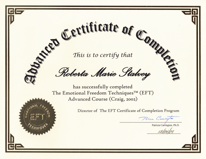 Certificate of Completion template 7844