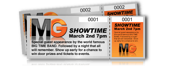event ticket template 987