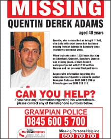 missing person poster template 8774