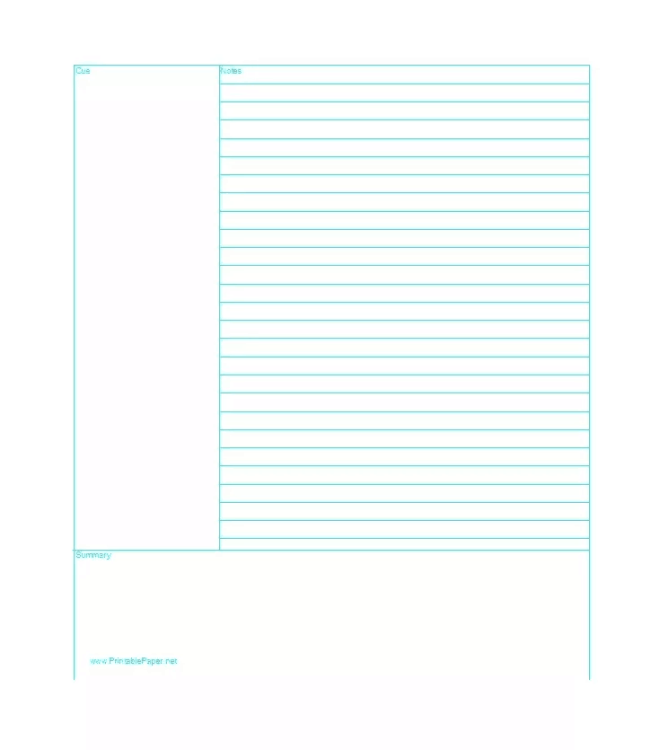 image regarding Lined Printable Paper referred to as 17+ Coated Paper Templates - Excel PDF Formats