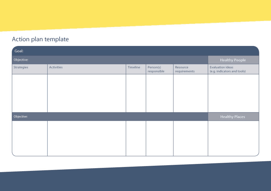 8+ Free Action Plan Templates - Excel PDF Formats